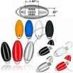 Oval Plastic USB Flash Drive