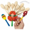 Design Your Own Wood Maracas