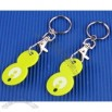 Numbrer 8 Euro Trolley Coin Keychain