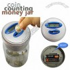Electronic Digital Coin Counter Jar