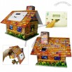 ECO Paper Colorful House Shaped Digital Coin Money Bank