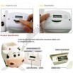 Milk Cow Music Digital Counter Money Coin Bank
