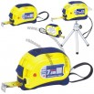 Steel Tape Measures with Laser Level