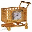 Shopping Cart Shaped Clock