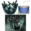 12L Large plastic champagne ice bucket