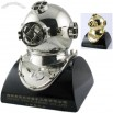 Diving Helmet Miniature Clocks