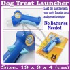 Dog Treat Food Snack Launcher Launches For Feed Fun Toy