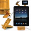 CaseCrown REAL Wooden Stand (Bamboo) for the Apple iPad 2
