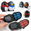 QE Dancing Penguin Female Bluetooth Mobile phone With Dualband