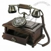 Antique Telephone with Little Cabinet