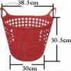 32L Flexible Storage Basket / Collect Basket for Shopping