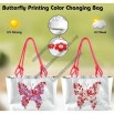 Butterfly Printing Color Changing Bag