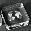 Globe Paperweight (Silver)