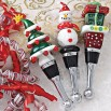 Holiday Wine Stoppers - Xmas