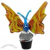 Hand-blown Glass Butterfly Bottle Stopper