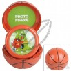 Circular Basketball Folding Clock