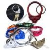 Grateful Dead Skull Shaped Keychain Carabiners