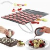 Macaroon Baking Mat Cake Decorating Set Muffin Pastry Cookies Sheet