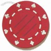 Bargaining Chip Designed Silicone Coaster 3.54