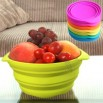Foldable Silicon Bowl for Household