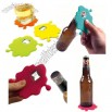 Silicone Splash Coaster Bottle Opener