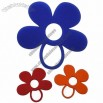 Flower Shaped Silicone Rubber Coasters