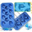 Silicone Dolphin Ice Cube Tray