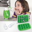 Worm Silicone Chillipedes Ice Cube Tray