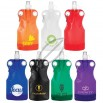 Sporty 21 Oz. Collapsible Water Bag with Carabiner