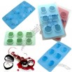 Dazzling Diamond Shape Silicone Ice Cube Tray