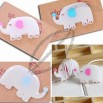 Cute Elephant Wrap Cable Wire Tidy Earphone Winder Organizer Holder
