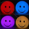 Cute Romantic Smiling Face Shape 7-color Changing LED Lamp Light