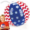 Fun Express Inflatable Stars And Stripes Beach Balls