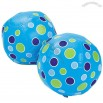Inflatable Mini Blue Polka Dot Beach Balls