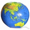 World Globe Inflatables Ball