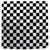 Black & White Checkered Bandana