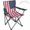 USA Flag Folding Chair