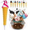 Chocolate Ice Cream Ball Pen with Magnet