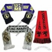 Football Woven Fans Knitted Scarf