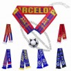 Jacquard Football Scarf