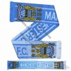 Man City Crest Soccer Scarf