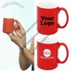 15oz Red White Two Tone Mug