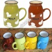 Mini Colour Milk Mugs