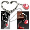 Heart Swivel Purse Hanger