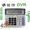 Calculator with Hidden Spy Camera