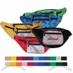 600 Denier Polyester - Fanny pack with adjustable waistband, 6 zippered pockets