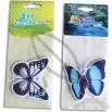 Butterfly Shaped Scented Car Air Freshener with Fruit Design