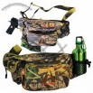 Camouflage outdoor pack with gun compartment