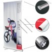 Clockwork Adjustable Roll Up Banner Stand 33