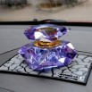 Crystal auto car perfume bottle